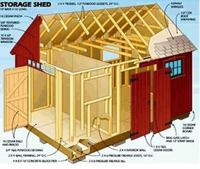 plans to build a shed