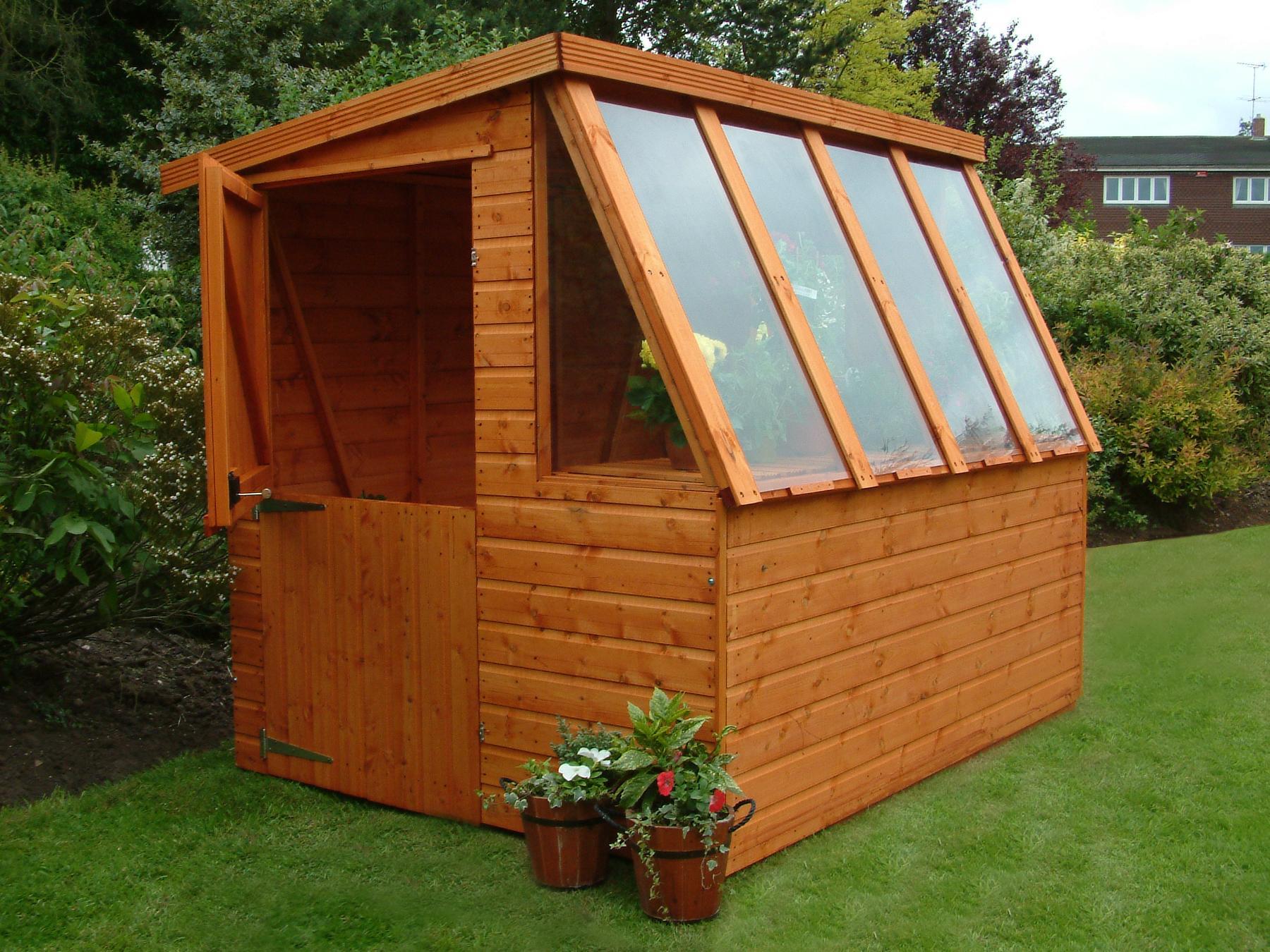 potting shed plans
