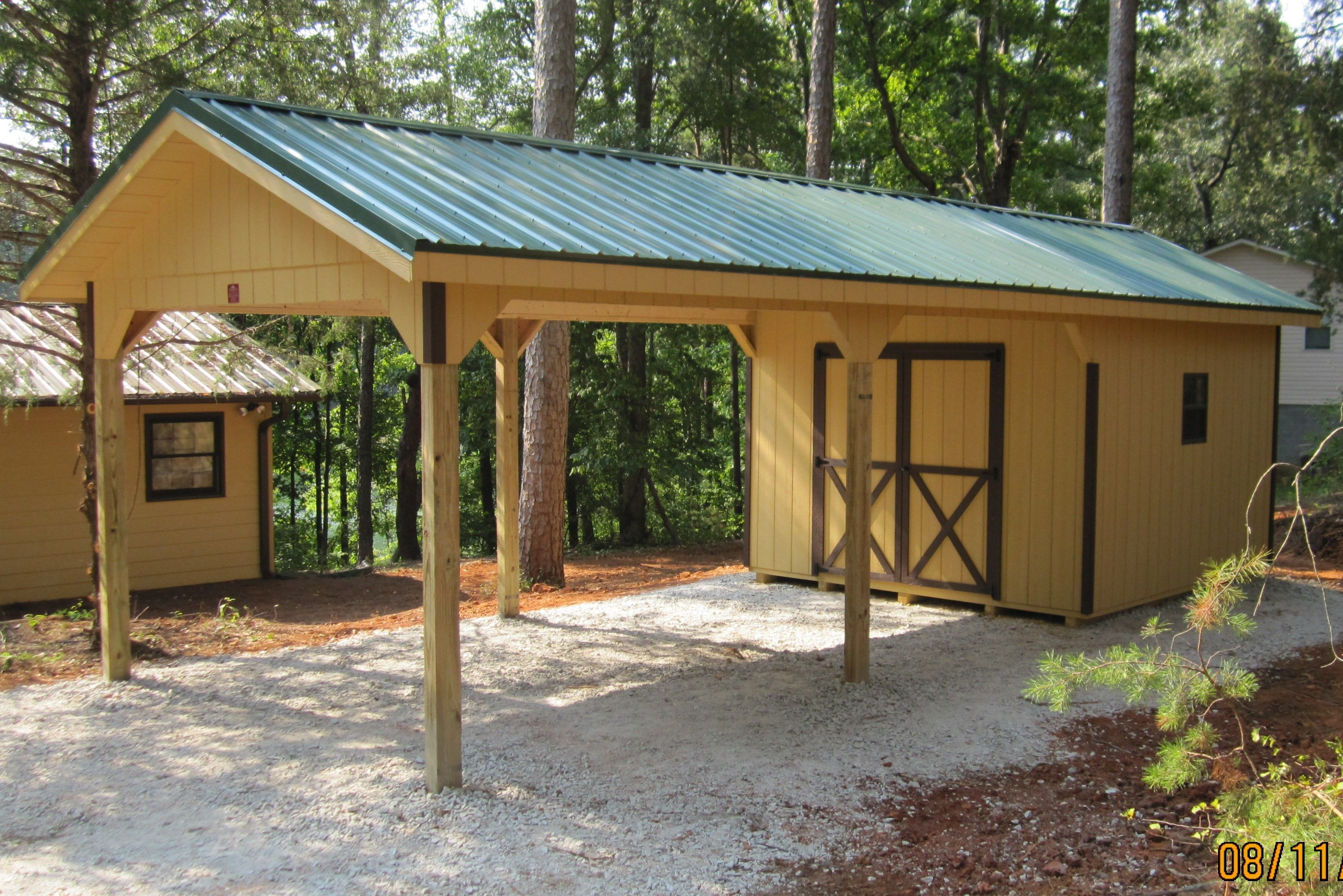 carport shed plans