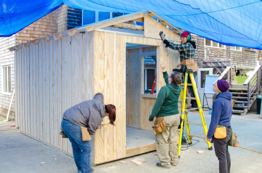 how to build shed cheap