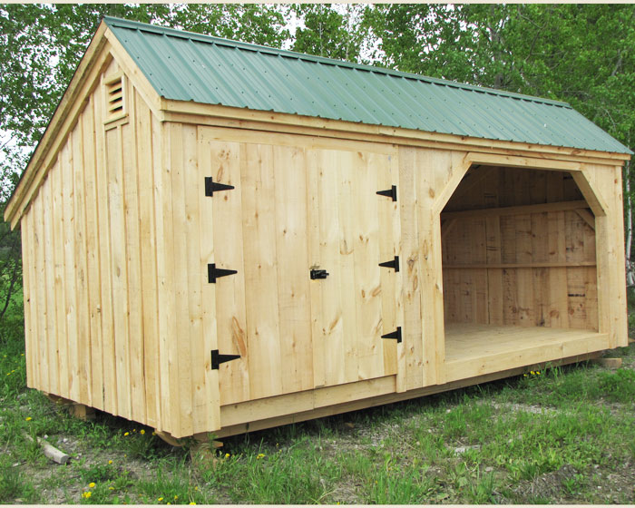 shed plans 10x20